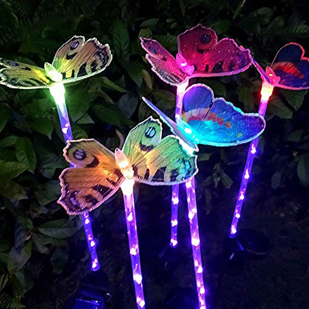 Solar Butterfly Stake Lights
