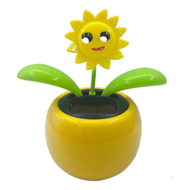 Dancing Sunflower Solar Toy