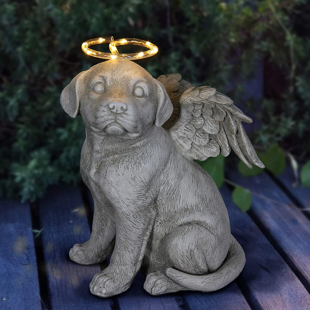 Solar Dog Memorial - Halo and Wings