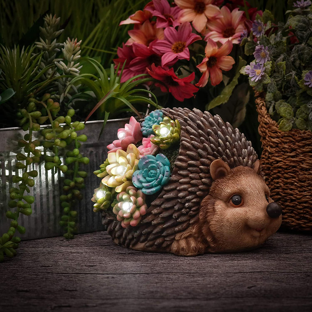 Solar Hedgehog Light