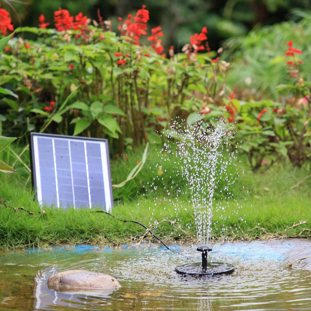 Solar Fountain Pump floating/non-floating